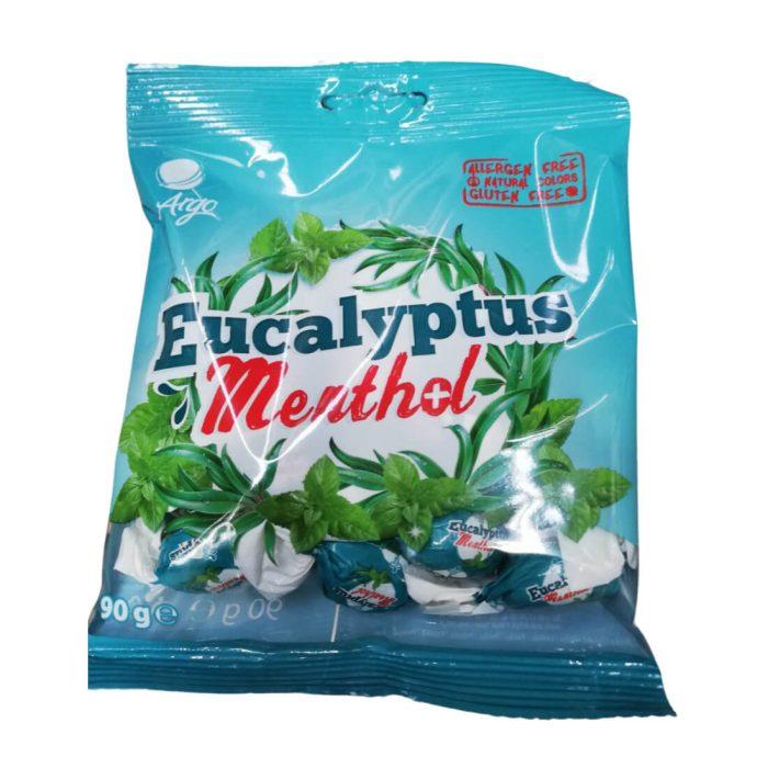 Argo Eucalyptus Menthol cukorka 90g