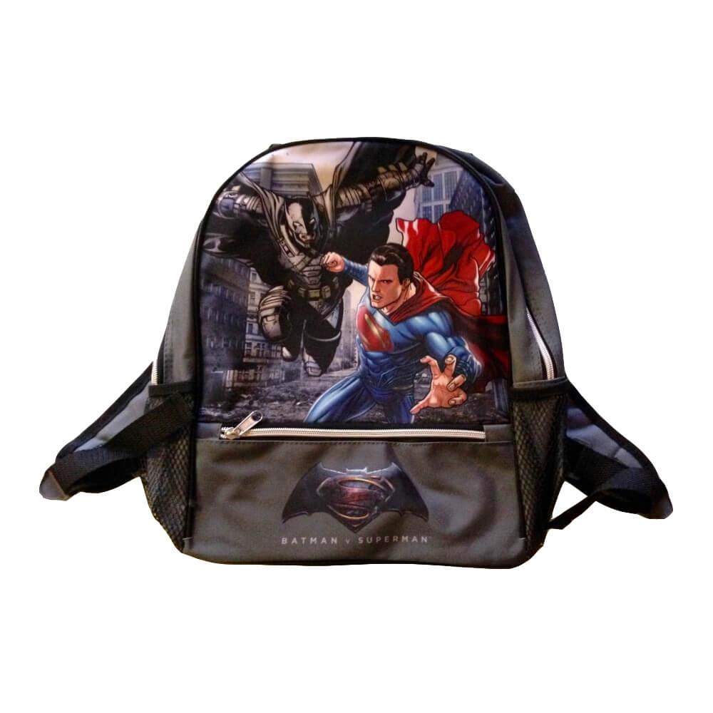 Batman v Superman gyerek hátizsák Szürke