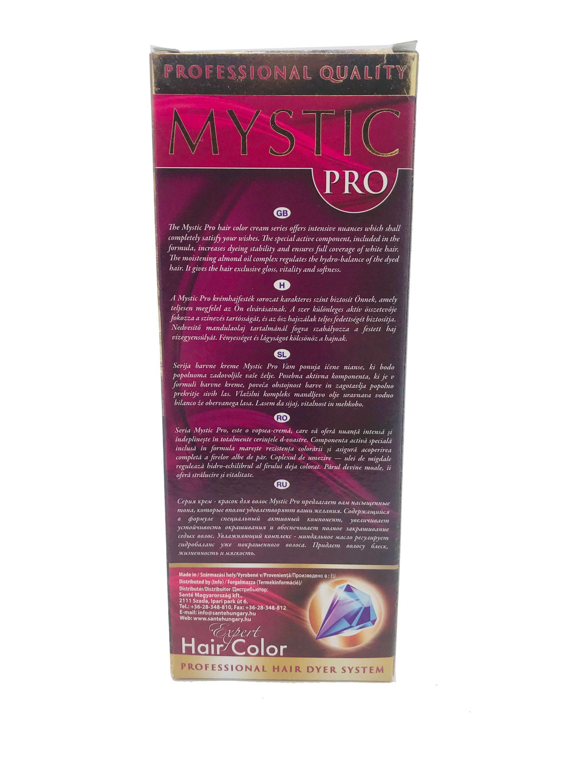 Mystic krémhajfesték 4 cappuccino