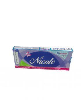 Nicole tisztasági betét 10db-os Normál