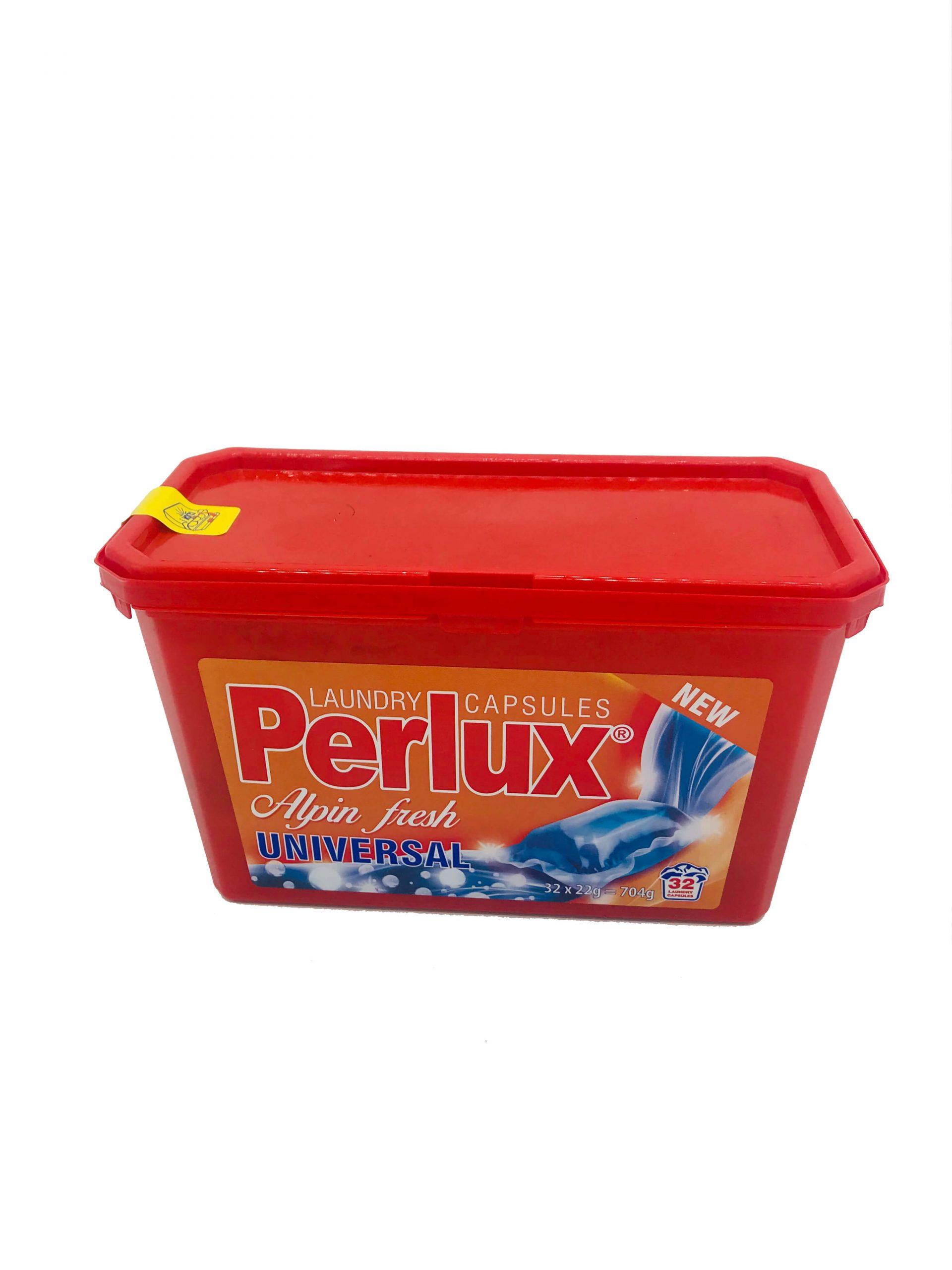 Perlux Alpin Fresh Color mosókapszula 32x22g (704g)