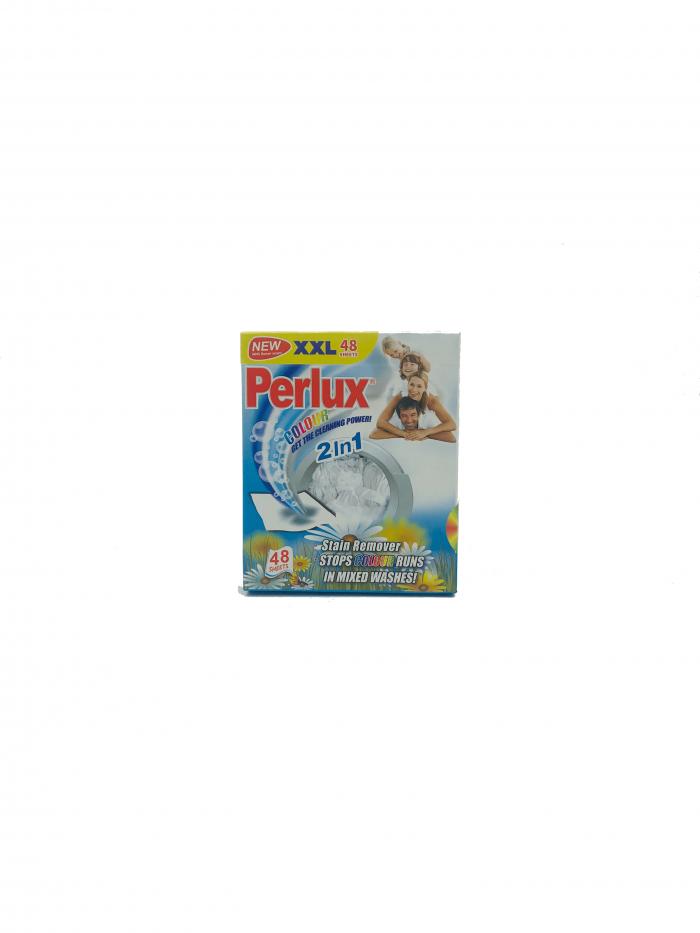 Perlux Colour Színgyűjtő kendő 2in1 Colour 48 db-os Virág illattal XXL