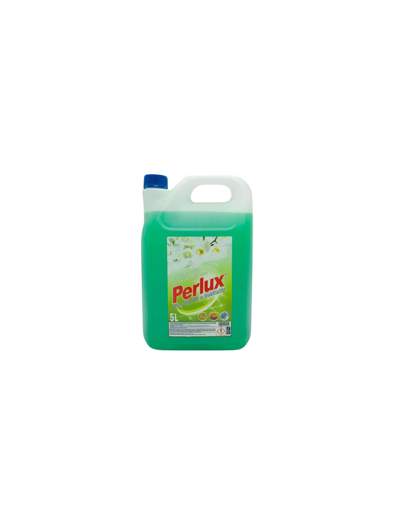 Perlux univerzális padló-és felülettisztító 5l GYÖNGYVIRÁG_ORCHIDEA illat