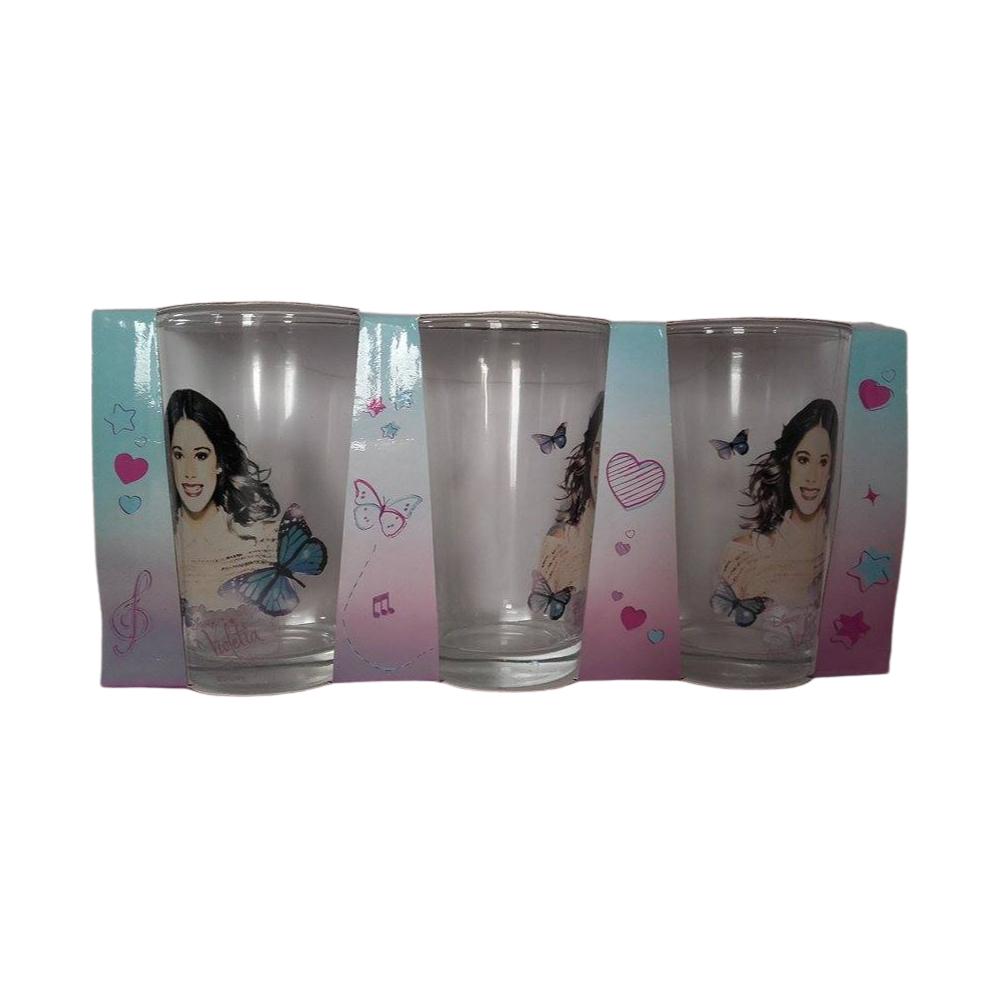 Violetta pohár szett 3db