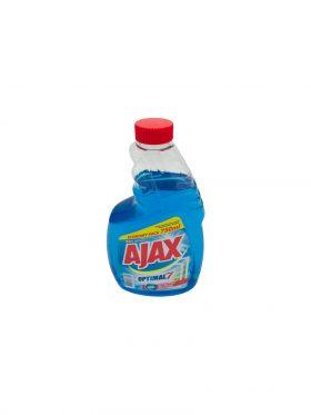 Ajax ablaktisztító utántöltő 750ml Optimal7 Multi Action1