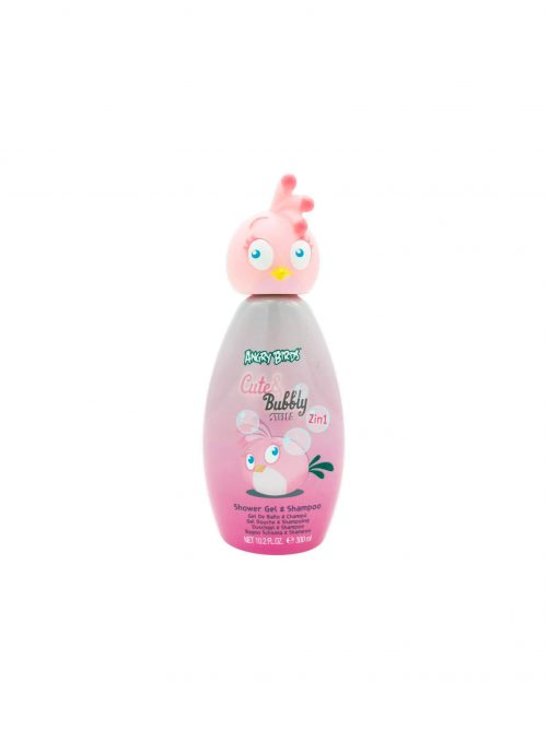 Angry Birds 2in1 tusfürdő_sampon 300ml Pink2