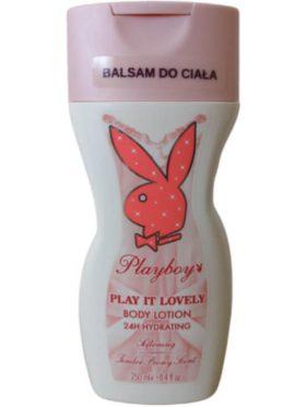 Playboy Play it Lovely testápoló 250ml Softening Bazsarózsa illat