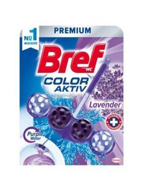 Bref Aktiv Color WC golyók 3*50g Purple Levander